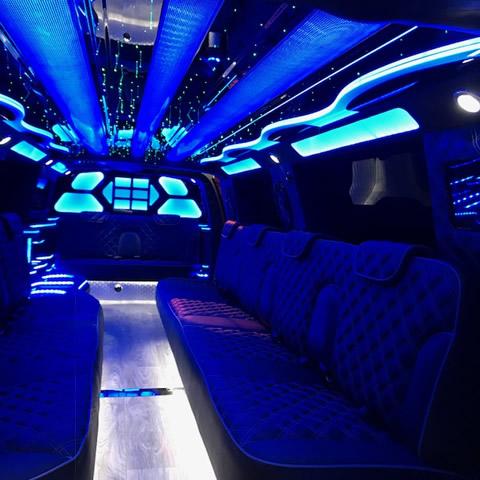 Sprinter Limousine Interior